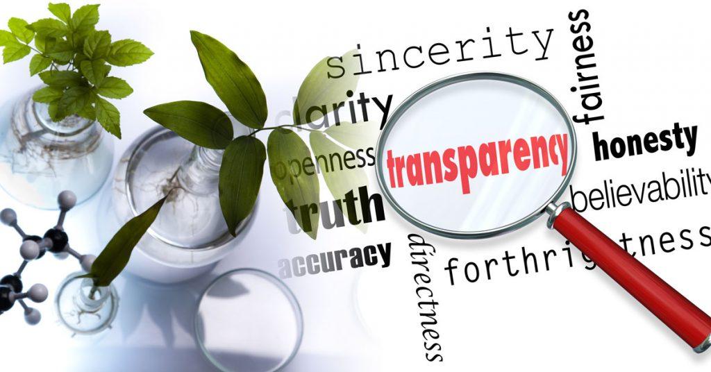 GMO transparency