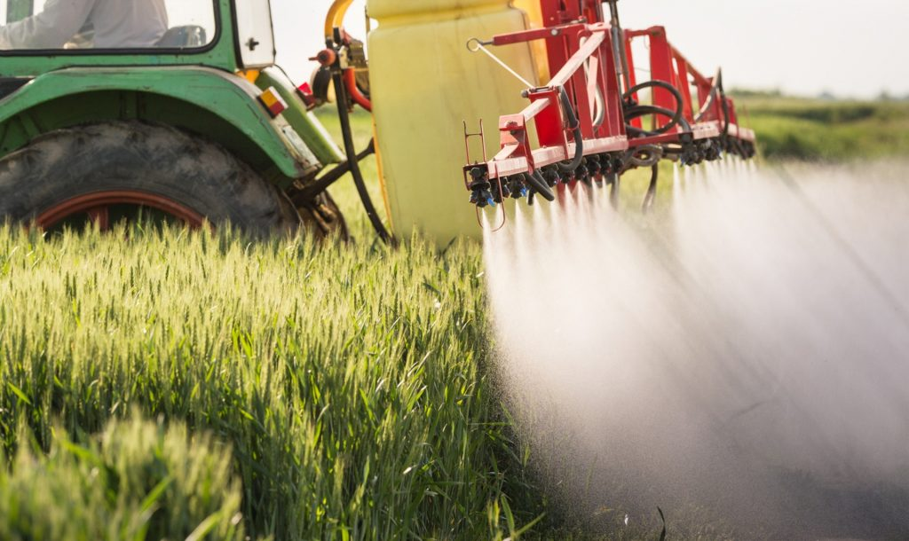 pesticides on crops